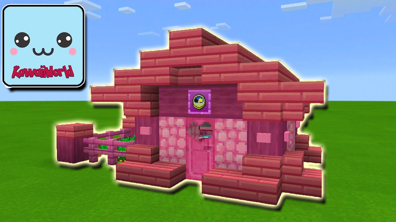 KawaiiWorld: How To Build EASY Small STARTER HOUSE Tutorial