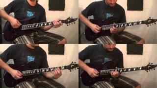 """Astor Piazzolla """"Fuga y Misterio"""" Guitar cover 4 lines By LUIS PROFETA"""