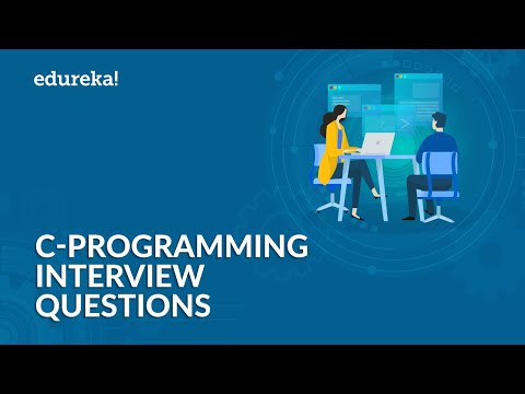 C Programming Interview Questions and Answers | C Interview Preparation | C Tutorial | Edureka thumbnail