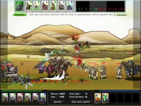 Epic War 3 Part 5 W/ TheGeorgeKnight The Yeti's Return
