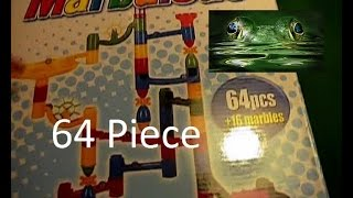 Marble Madness - Unboxing 64 Piece - Marbulous - Marble Run