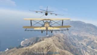 "GTA 5 Story Mode ""Minor Turbulence"" Trevor Flying Cargo Plane #2"