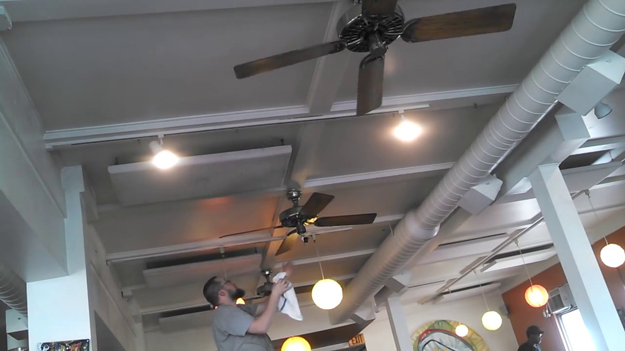 Hunter Original Ceiling Fans Repair Polished Brass Part 1 Unedited