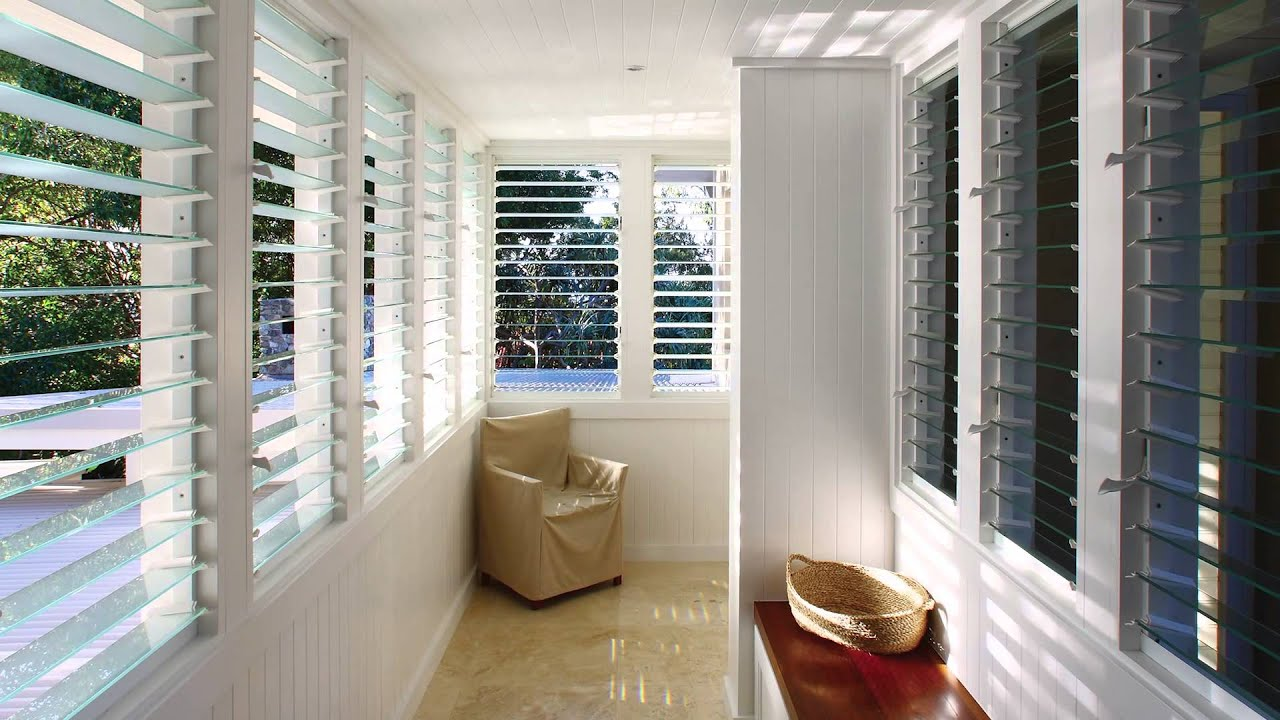 Asia Energy Efficient Breezway Louvre Windows For A
