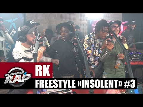 RK - Freestyle 'Insolent' [Part 3] avec Koba LaD, SO, Yaro, GLK & 100Bblaz #PlanèteRap