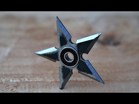Steel Ninja Star Fidget Spinner - No Music