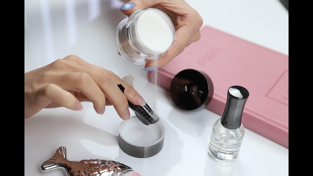 Przedluzanie Paznokci Na Szablonie W Manicure Tytanowym Lart