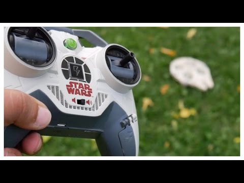 FLYING NEW MILLENIUM FALCON DRONE