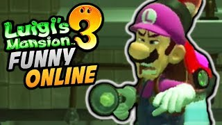 How it FEELS to Play Luigi's Mansion 3 ONLINE w/ FRIENDS - Funny Moments!
