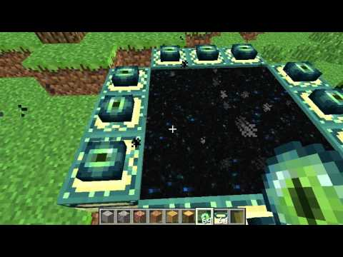 how to create a portal in minecraft
