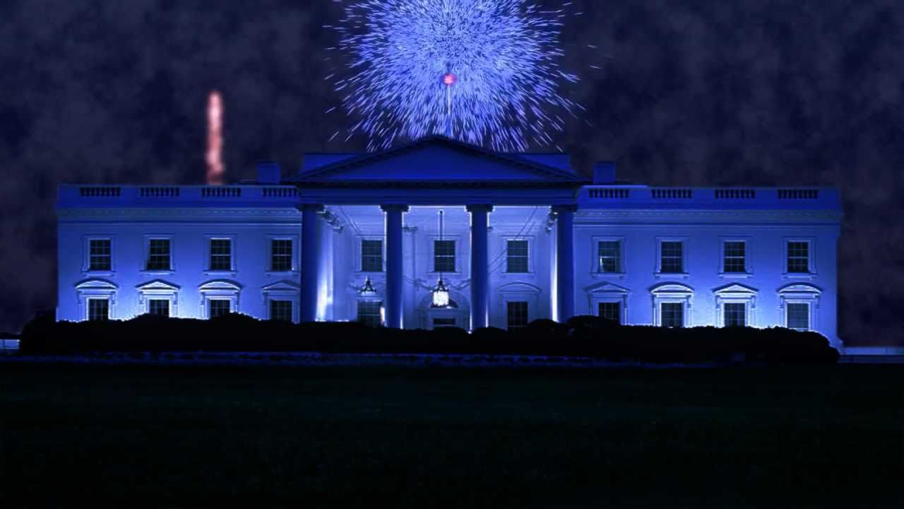 Fireworks at the White House - YouTube