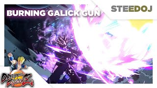 BURNING GALICK GUN! SSB Vegeta & Trunks Father Son Combo Super Attack!