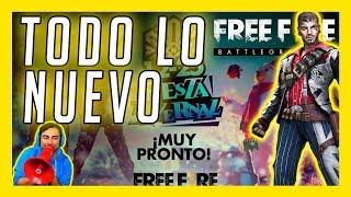 ENTÉRATE DE TODO LO NUEVO DE ESTA ACTUALIZACIÓN DE FREE FIRE