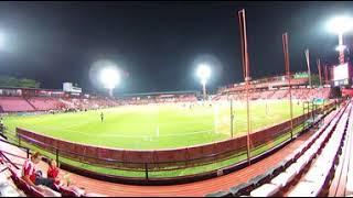 【360°】SCGスタジアム試合前の雰囲気2(タイサッカーリーグ:ムアントンユナイテッドFC本拠地)
