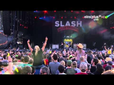 Slash ft. Myles Kennedy & The Conspirators - 11.Paradise City Live @ Rock Am Ring 2015 HD AC3