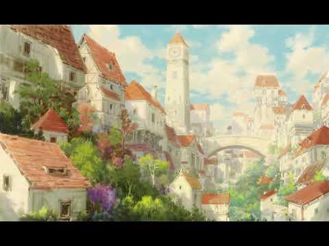 Fantasy Village Digital Painting Concept Art Time Lapse Youtube
