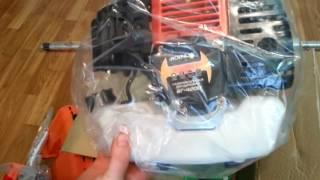 Мотокоса Іскра БГ-4200 ( ніж+диск павук+котушка)