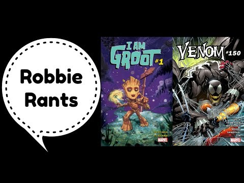 Weekly Comic Book Review 05/24/17 - Robbie Rants #87