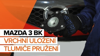 Jak vyměnit Brzdové Destičky на MAZDA 3 (BK) - online zdarma video