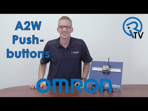 Omron A2W Push-buttons