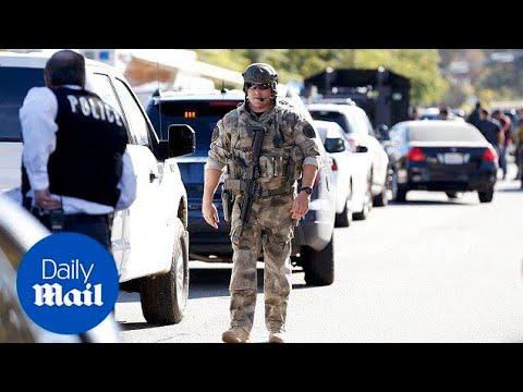 Police scanner audio reveals how San Bernardino unfolded - Daily Mail