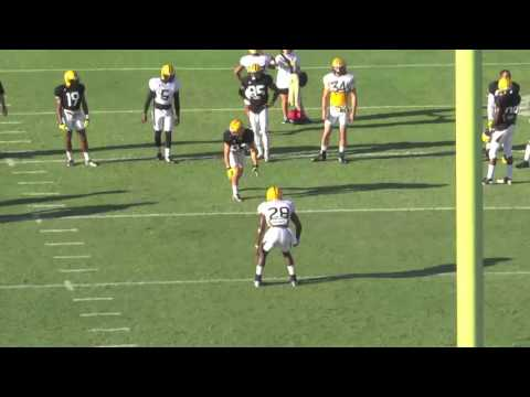 Casey Martin Southern Miss 1on1s (Wes Welker Slot WR Mold)