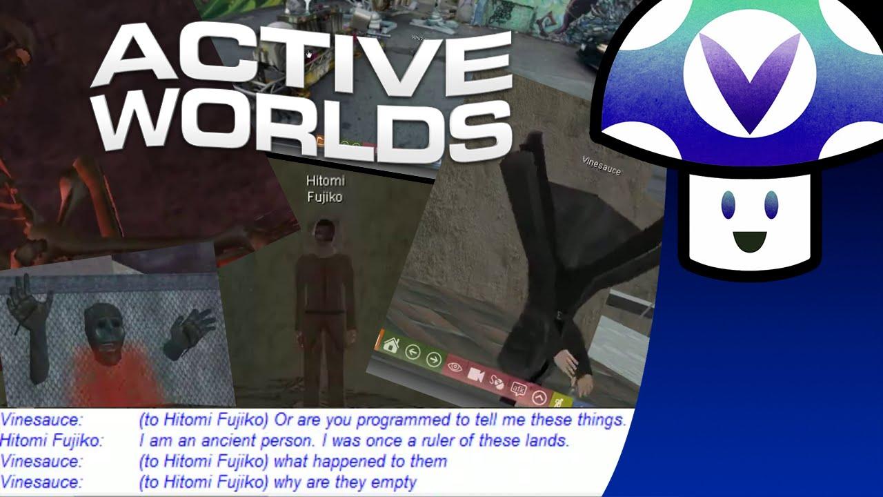 [Vinesauce] Vinny - Active Worlds - YouTube