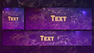 GFX gratuit: Fortnite Revamp Template 2018 Photoshop (Banner,Avatar,Header)