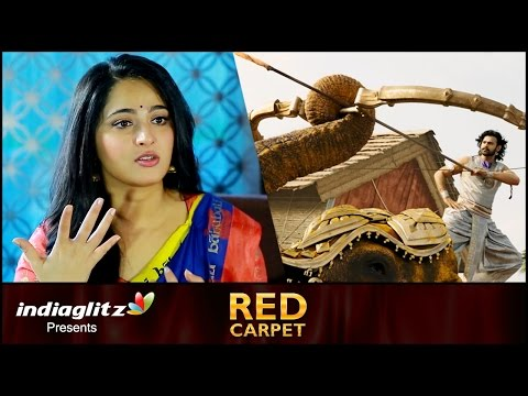 Thumbnail: 'Baahubali 2' Creativity Stuns Me : Anushka Shetty Interview | SS Rajamouli, Prabhas | Red Carpet