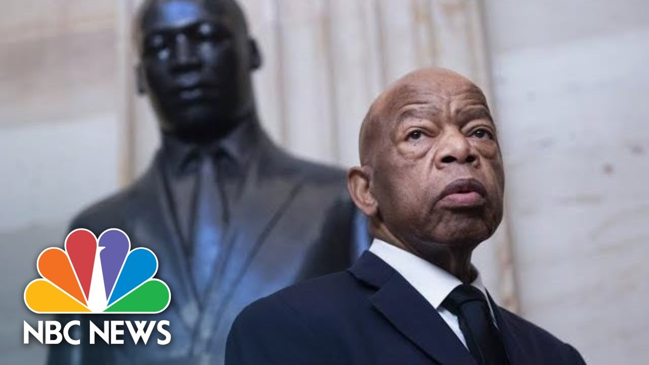 Live: Body Of Rep. John Lewis Arrives In D.C. For Ceremony At U.S. Capitol | NBC News