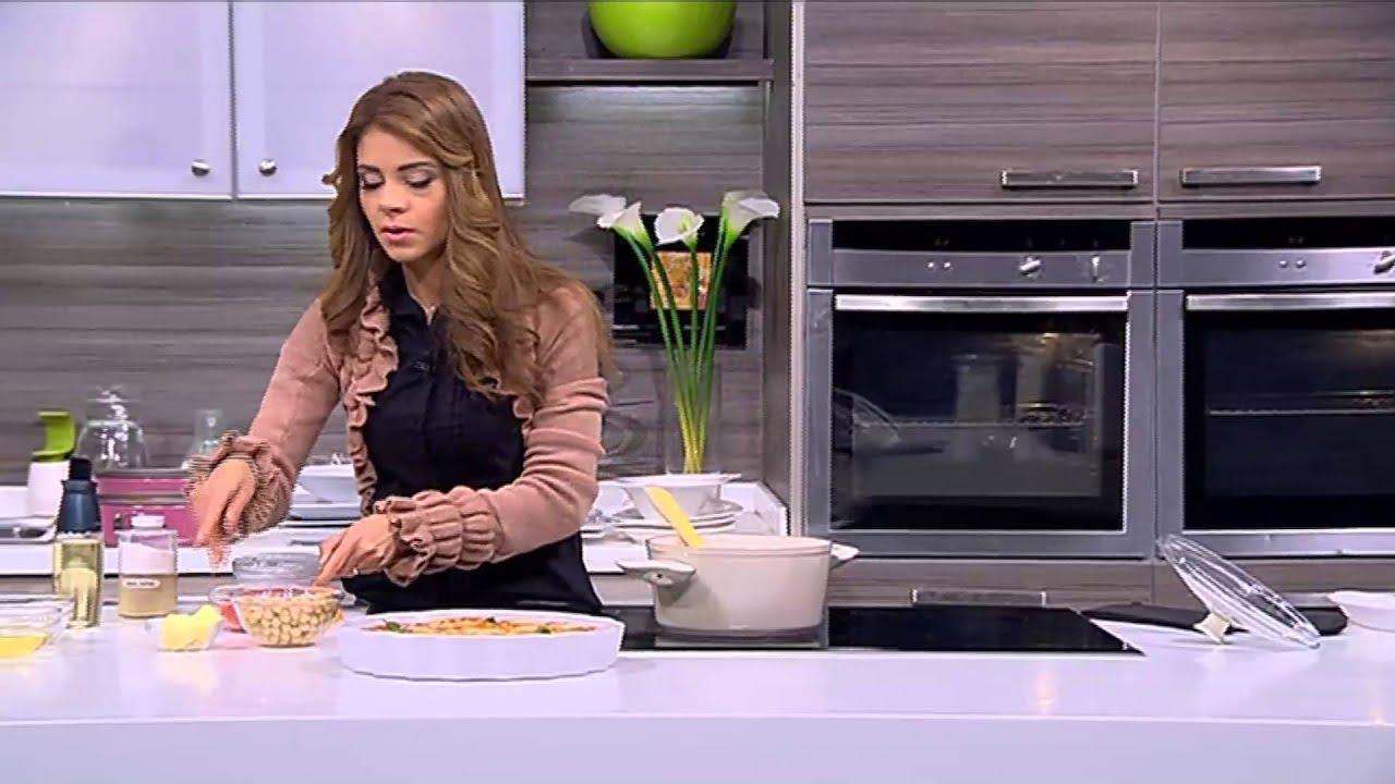 كانيلوني بالدجاج والجبنة - شوربة حمص بالفلفل الأحمر : حلو وحادق حلقة كاملة