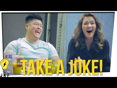 """Hangin' With JK: """"Taking a Joke"""""""
