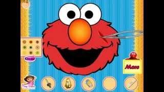 Elmo Visiting The Doctor (Лечить Элмо у доктора) - прохождение игры