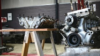 Alfa 105 - Removing a seized cylinder head.