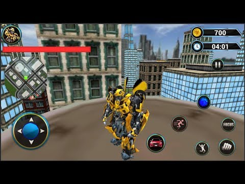 Grand Robot Car Transform 3D Game - Android Gameplay ...