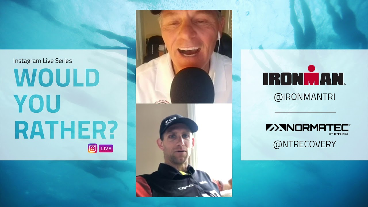 Would You Rather? - IRONMAN® style Q&A: Andrew Starykowicz | IRONMAN®