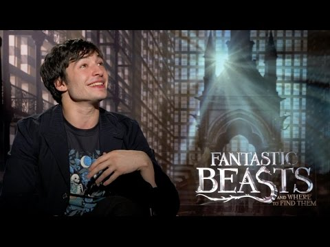 Ezra Miller on Harry Potter and long underwear