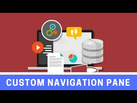 How to Create Custom Groups in the Access Navigation Pane
