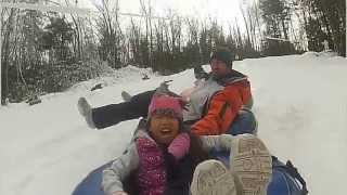 Moonshine Mountain Snow Tubing 2012