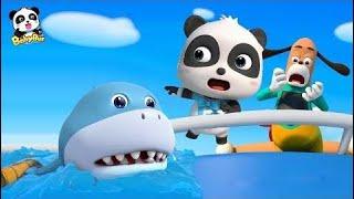babybus panda Մանկական Shark- Ի Հետապնդող Երեխայի Panda | Super Panda Փրկարարական Թիմ | Երեխ -2019