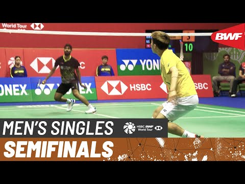 SF | MS | KIDAMBI Srikanth (IND) vs. LEE Cheuk Yiu (HKG) | BWF 2019