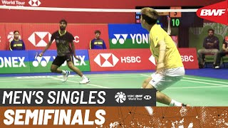 SF   MS   KIDAMBI Srikanth (IND) vs. LEE Cheuk Yiu (HKG)   BWF 2019