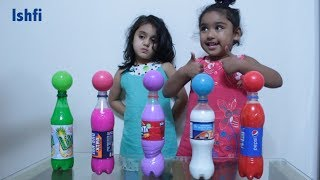 Kids Learn Colors with Ball and Colourful Water