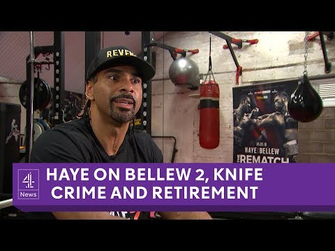 David Haye interview on Bellew 2, retirement, knife crime and the windrush generation