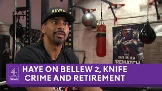 David Haye interview on Bellew 2, retirement, knife crime and Windrush