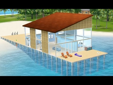The Sims 3 Building Property Over Water Island Paradise