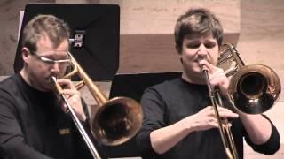 Bruckner Etude für das tiefe Blech played by UdK Berlin Trombone Choir at SLIDE FACTORY 2009