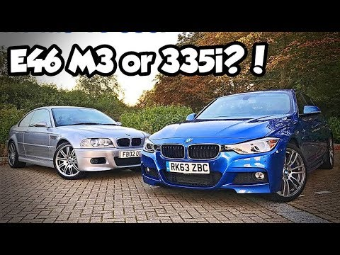 Bmw E46 M3 Vs F30 335i How Good Is The Bmw 3 Series Youtube