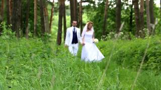 Съёмка свадьбы в Дубровицах. Видеограф в Москве  8 915 32 99 6 88 владимир