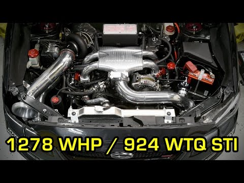 IAG Performance - JR Tuned  - Willall Racing 1278 HP 2015 STI